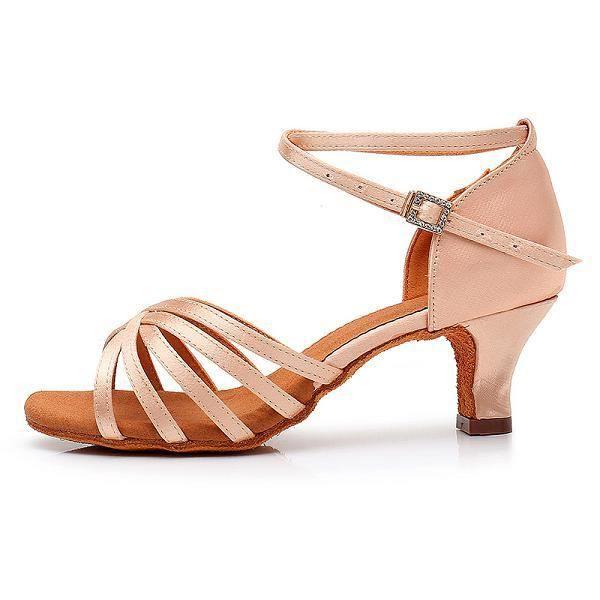 Chaussures de danse,Didiip-chaussures de danse à talons hauts pour femmes, souliers souples pour danser, Tango, pour salle de bal