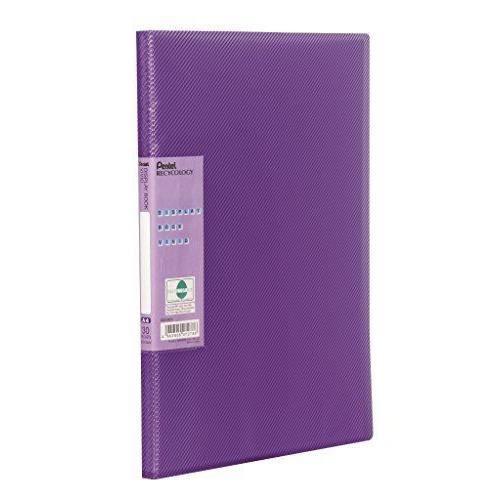 Pentel Protèges documents Vivid A4 PP 30 pochettes Violet