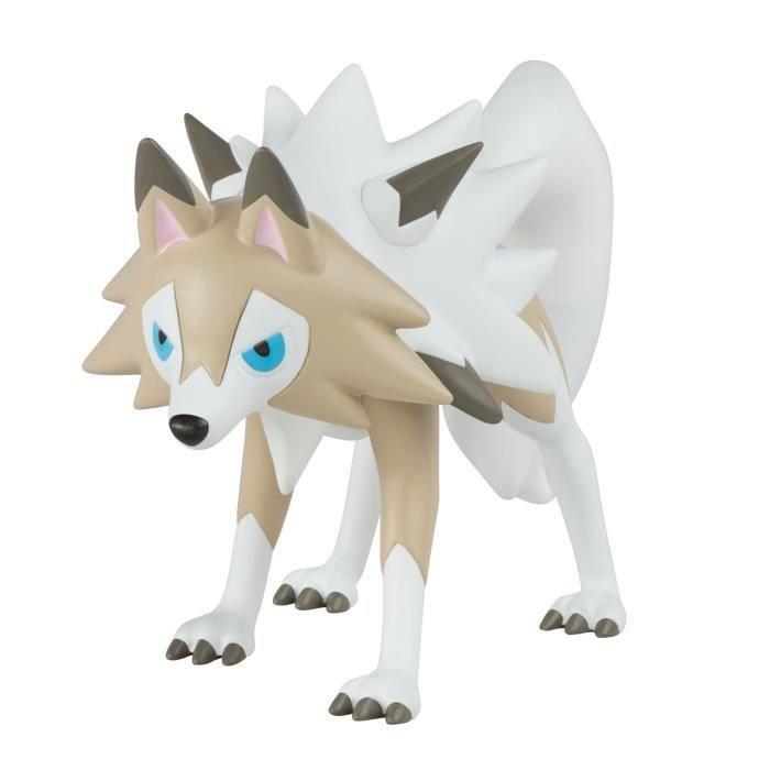 """POKEMON Figurine Lougaroc - """"Pokémon Soleil-"""