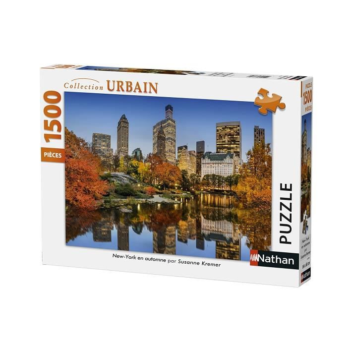 Puzzle New York en Automne 1500 pcs