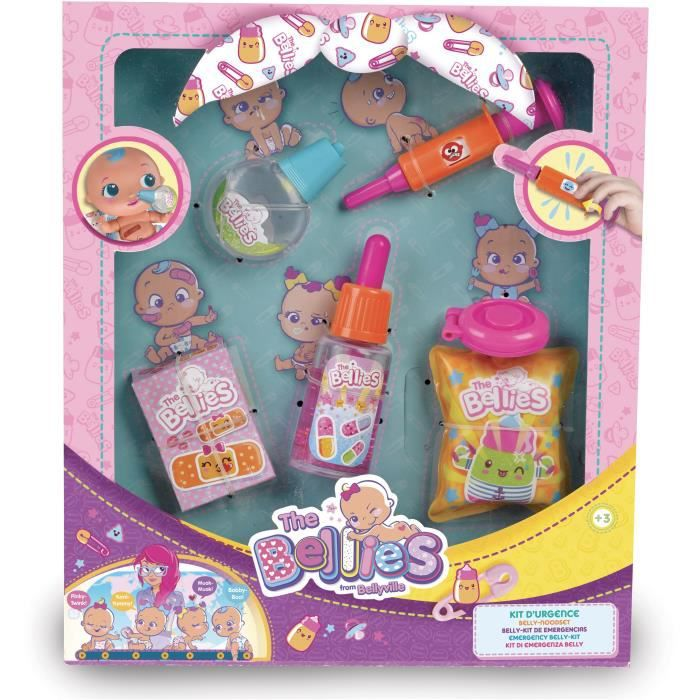 SPLASH-TOYS Kit de premiers secours the emergency - Pour les poupons bellies