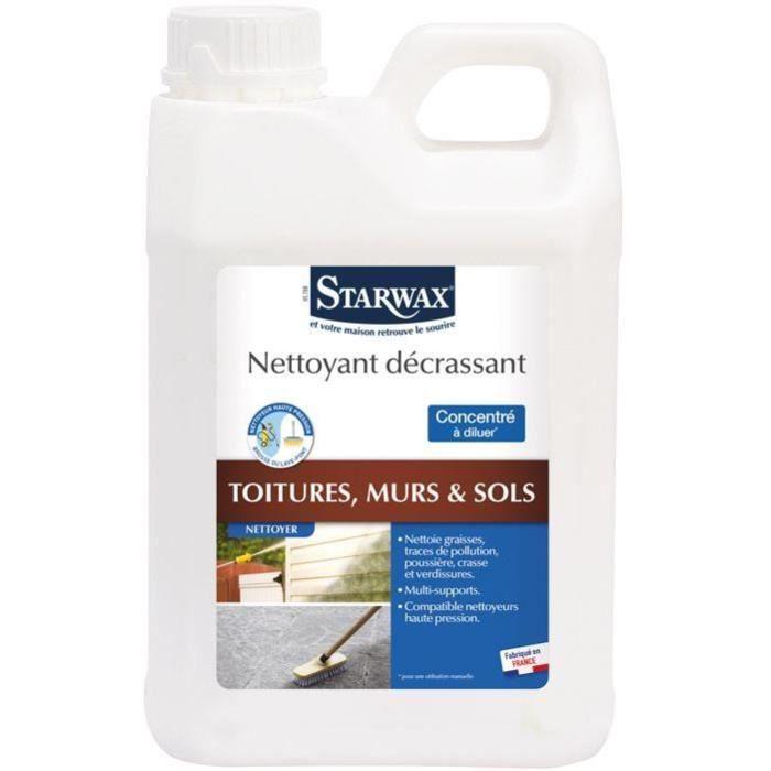 Nettoyant decrassant exterieur 2l
