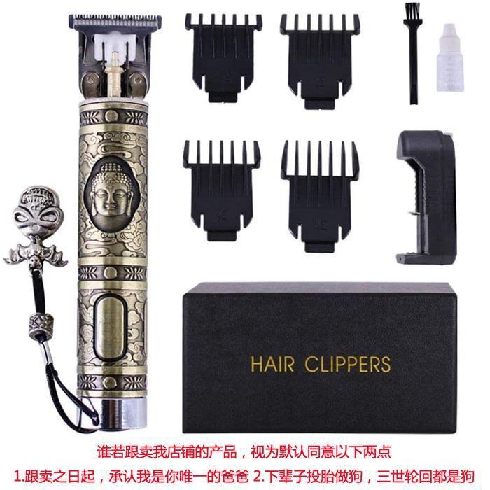 Tondeuses À Cheveux Professionnels Barbier Coupe De Cheveux Sans Fil Sculpture Cutter Rechargeable Rasoir Tondeuse Barbe Tondeuse Po