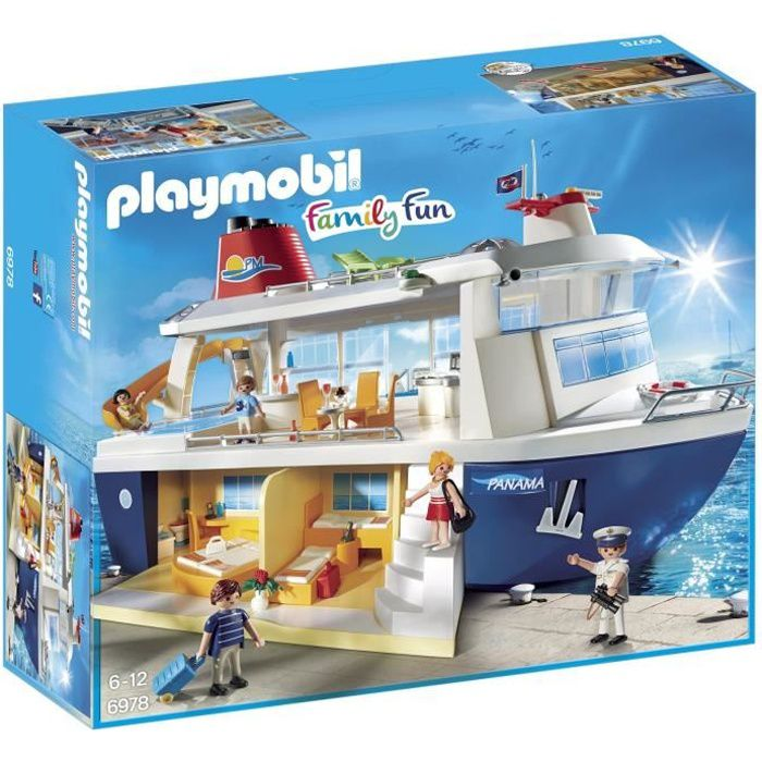 Photo de playmobil-6978-family-fun-bateau-de-croisiere