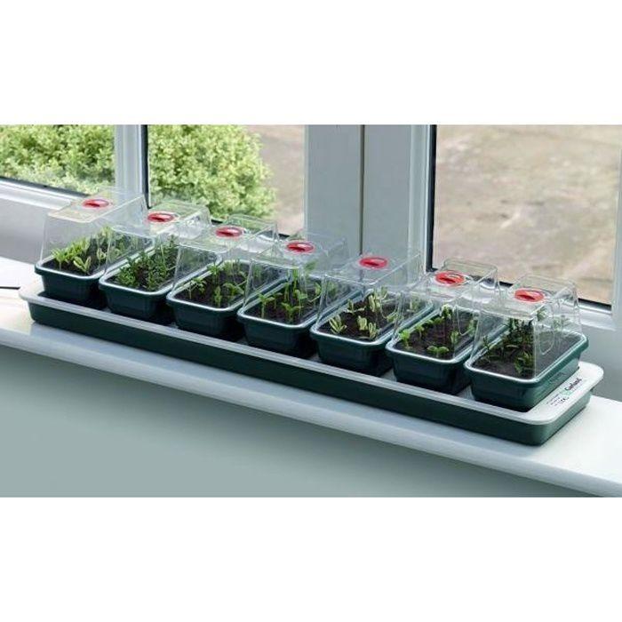Super 7 Mini Serre Plantation Fenêtre électrique