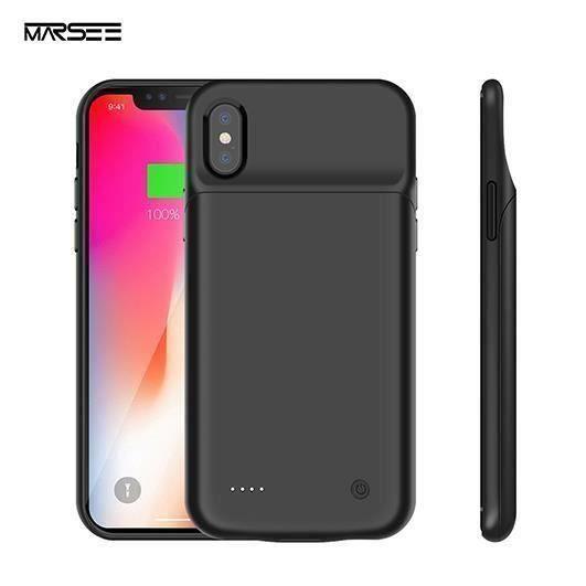 Coque Batterie iPhone X-XS, 3200mAh Chargeur Portable Batterie ...