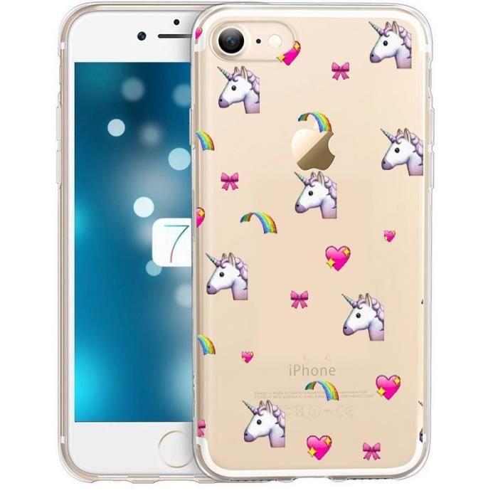 coque iphone 7 plus licorne