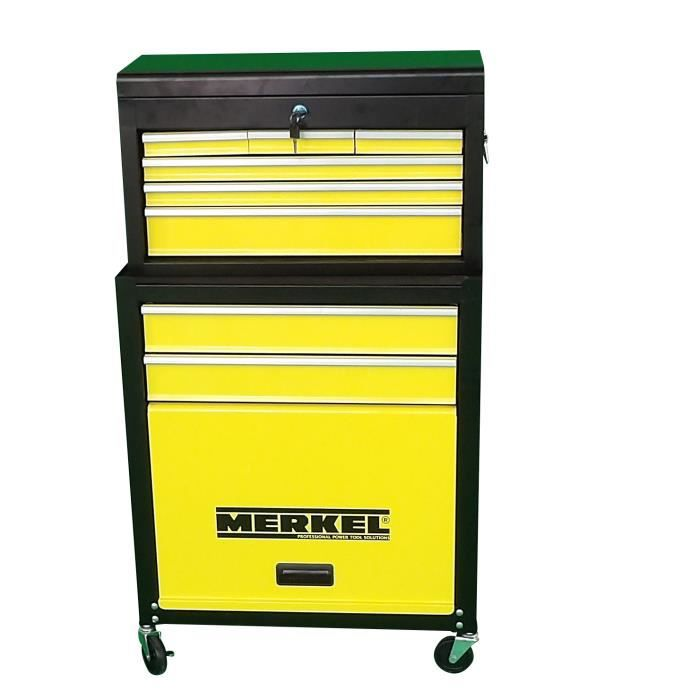 Servante d/'atelier boîte à outils acier inoxydable 3 compartiments électroménage