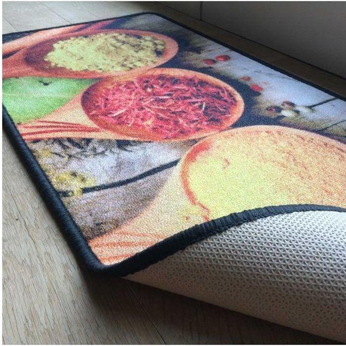 tapis de cuisine motif