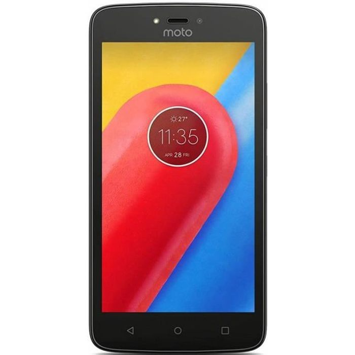 SMARTPHONE Motorola XT1754 Moto C Double Sim Noir - Tout Opér