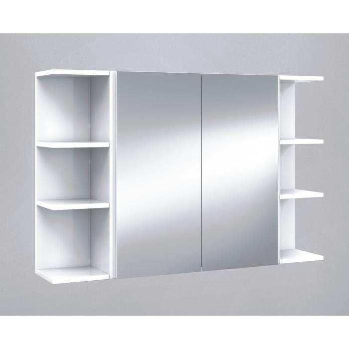 Set De Element Haut De Salle De Bain Avec Miroirs Etageres D