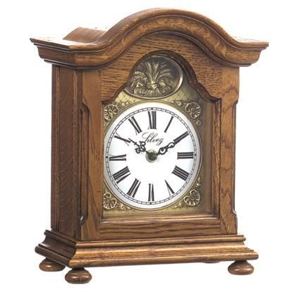 pendule horloge a poser bois massif chene achat vente horloge bois ch ne cdiscount. Black Bedroom Furniture Sets. Home Design Ideas