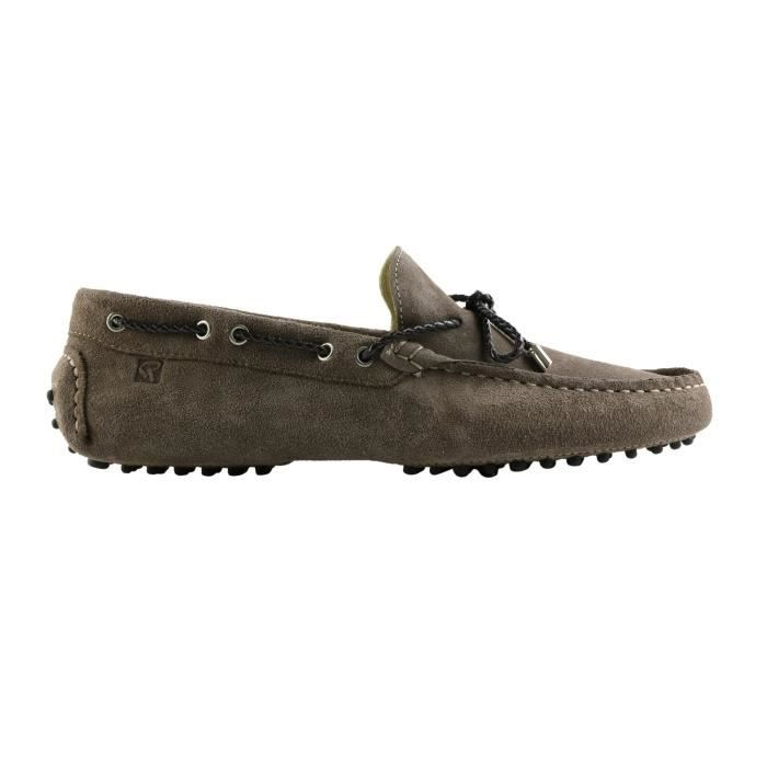 Redskins Taupe taupe en Mocassins cuir 43 Homme SANTIS rxqaTCBnwr