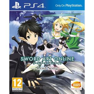 JEU PS4 Sword Art Online : Lost Song Jeu PS4