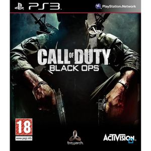 JEU PS3 Call Of Duty Black OpsJeu Console PS3