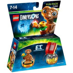 FIGURINE DE JEU LEGO Dimensions - Pack Héros - E.T l'Extraterrestr
