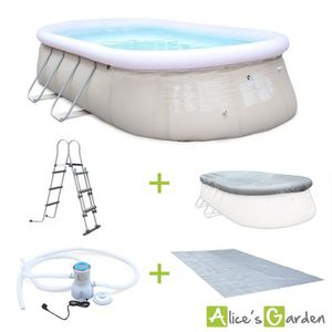 Piscine autostable tubulaire achat vente piscine for Piscine gonflable 3m