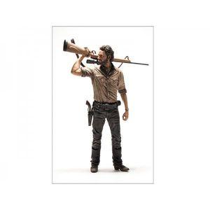 FIGURINE - PERSONNAGE Figurine The Walking Dead. Rick Grimes 25cm.