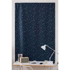 RIDEAU Nouveau mode simple rideau étoiles multicolores gr