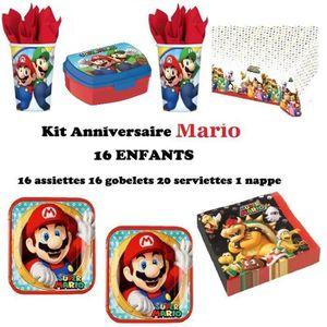 Decoration Anniversaire Mario