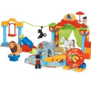 GARAGE - BATIMENT Jeu de Construction Cirque Enfant - Grand Format -