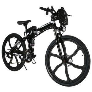 KIT VÉLO ÉLECTRIQUE ANCHEER Vélo électrique de montagne 26