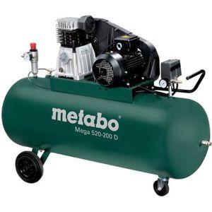 COMPRESSEUR Metabo - Compresseur 200L 3 kW 10 bar - Mega 520-2
