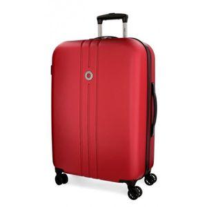 VALISE - BAGAGE Grande valise rigide Movom Riga Rouge 70cm