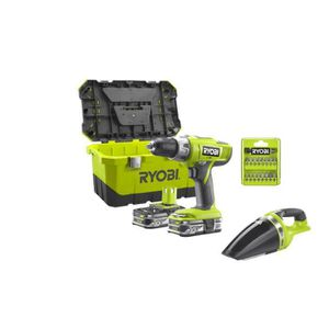 PERCEUSE Pack Perceuse Visseuse percussion Ryobi 18V OnePlu