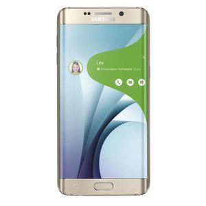 SMARTPHONE RECOND. Galaxy S6 Edge 32Go Reconditionné a neuf Or (GOLD)