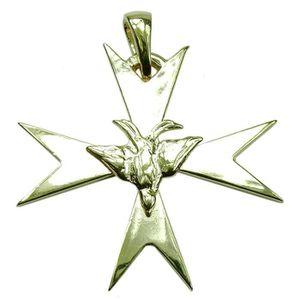 PENDENTIF VENDU SEUL Souvenirs de France - Grande Croix Huguenote