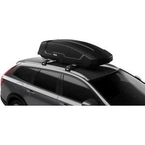 VDP JUEASY320 Coffre de Toit verrouillable Noir Brillant 320 l Barres de Toit Rapid Compatible avec Seat Arona 5 Portes /à partir de 17
