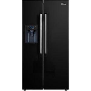 RÉFRIGÉRATEUR AMÉRICAIN TRIOMPH TM488NFBK Réfrigérateur américain Side by