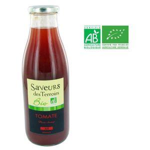 Boisson fruit - légume SAVEURS DES TERROIRS Jus de tomate bio Plein champ