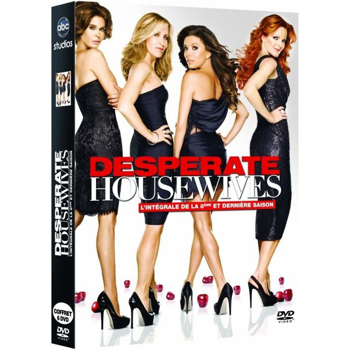dvd desperate housewives saison 8 en dvd s rie pas cher. Black Bedroom Furniture Sets. Home Design Ideas
