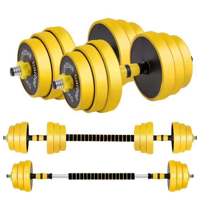 Kit haltères musculation 25 kg