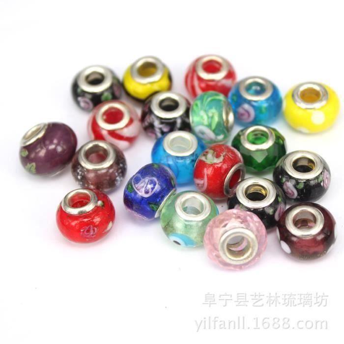 100 pc Pandora Perles accessoires perles bracelet