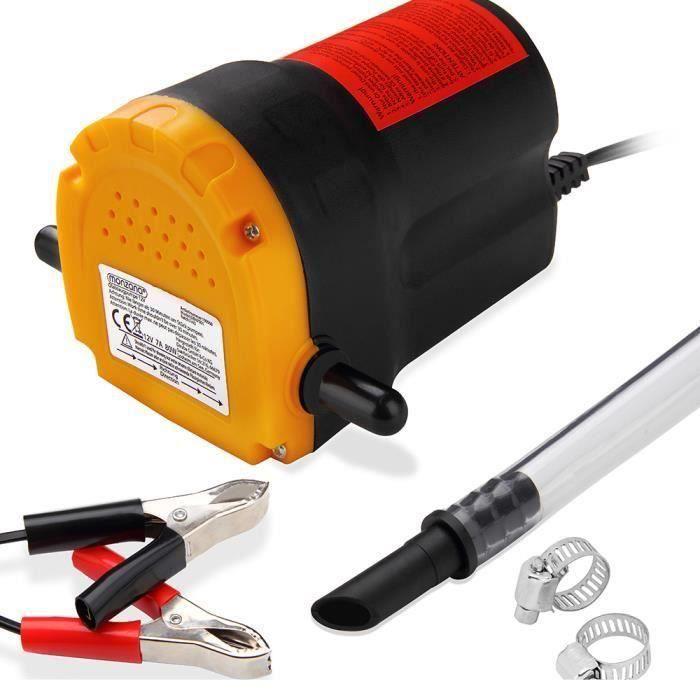 Pompe à vidange extraction huile diesel aspiration Kit vidange auto huile 12V