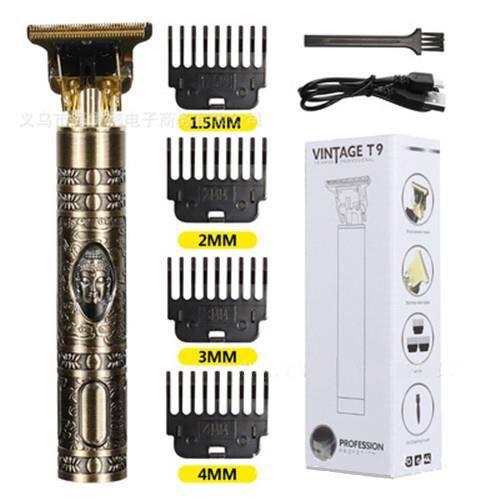 Tondeuse électrique sans fil à cheveux pour hommes,machine de rasage, rasoir de barbe