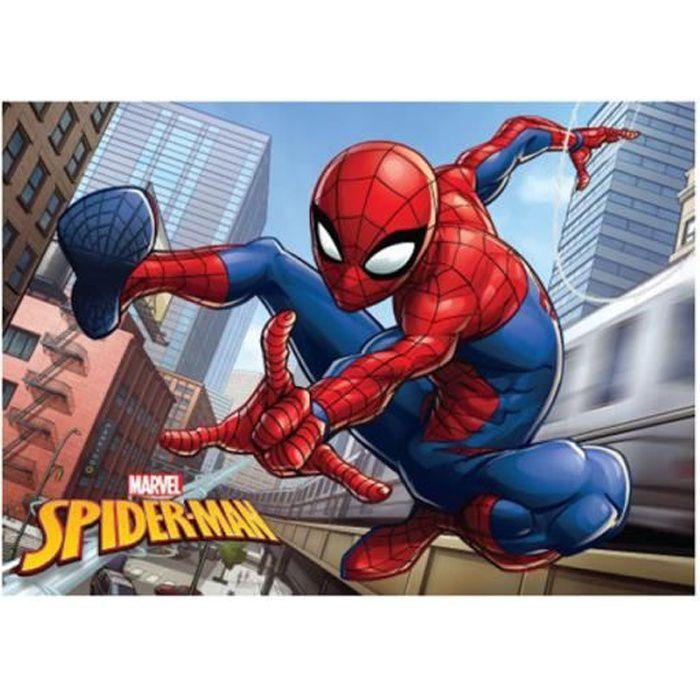 Tapis de sol Spiderman City 40cm X 60cm