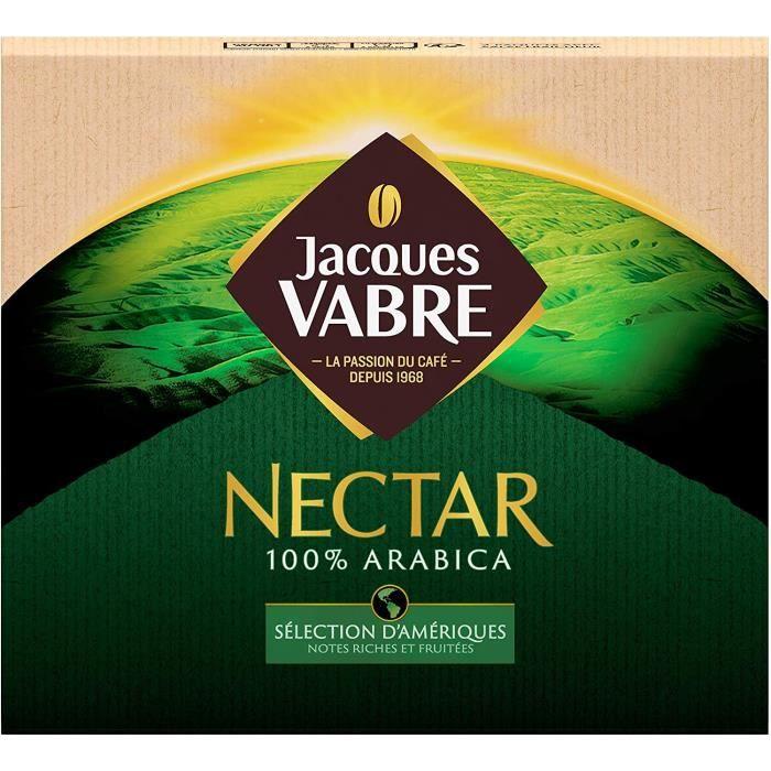 Jacques Vabre Café 3Kg Nectar Moulu (lot de 6 x 2x250G)