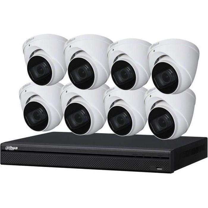 Dahua - Kit vidéosurveillance KITEVO 8DOM720P-001