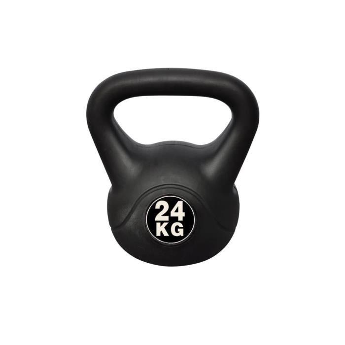 Homgeek Sports Kettlebell fit 24 kg en Béton 24 x 30 x 34 cm