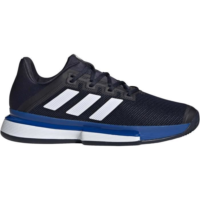 adidas SoleMatch Bounce Clay Hommes Chaussure tennis blanc