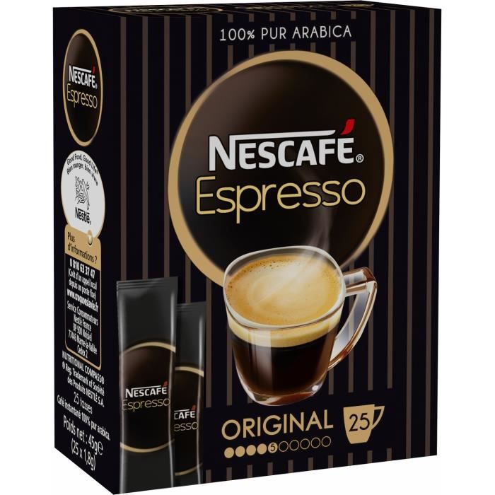 Sticks café soluble 25x1,8g NESCAFE