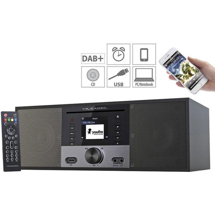 Radio Internet/DAB+/FM stéréo avec lecteur CD IRS-700