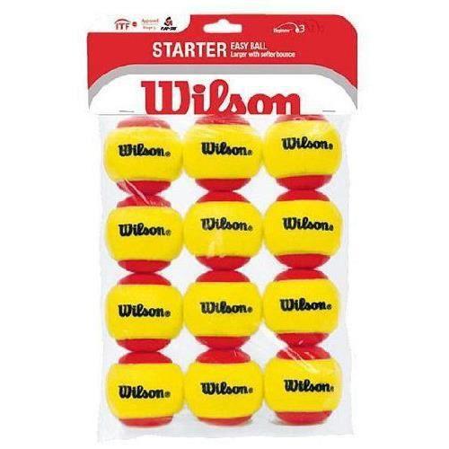 Wilson Starter Easy - Balles de tennis enfant -…