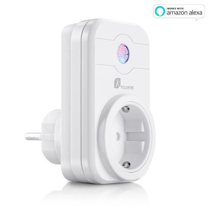 Prise Intelligente Connectée Prise de Courant Voix Alexa Google Home IFTTT 3PCS