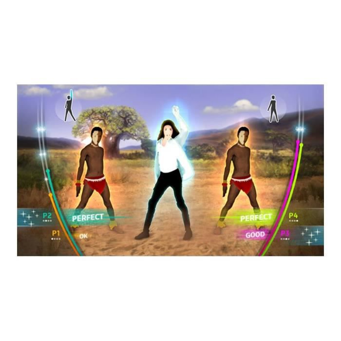 JEU WII Michael Jackson:The Experience Wii allemand