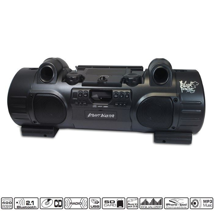 STATION D'ACCUEIL GHETTO BLASTER CD RADIO USB SD